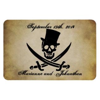 Pirate Wedding Save the Date Souvenir Magnet
