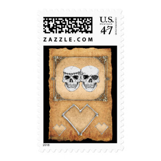 pirate wedding stamp