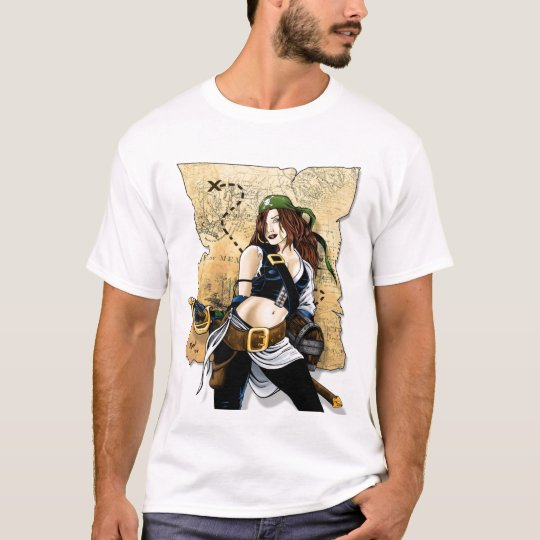 Pirate Wench 1 T-Shirt