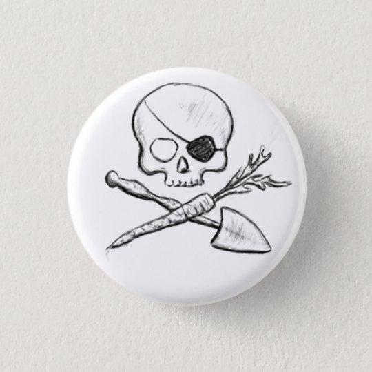 Pirate with Eyepatch Gardener Pins
