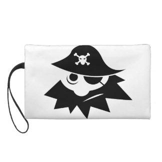 Pirate Wristlet Clutch