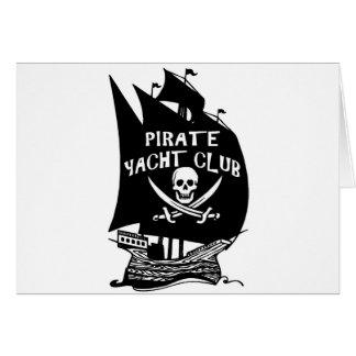 Pirate Yacht Club Card