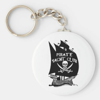 Pirate Yacht Club Key Chains