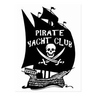 Pirate Yacht Club Postcard