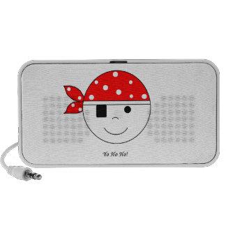 Pirate Yo-Ho-Ho Travel Speakers