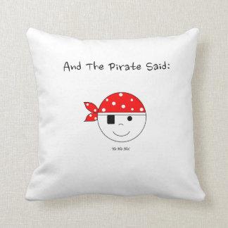 Pirate Yo-Ho-Ho! Throw Pillow