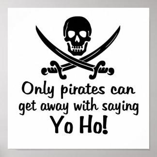 Pirate Yo Ho Print