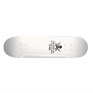 Pirate Yo Ho Skate Deck