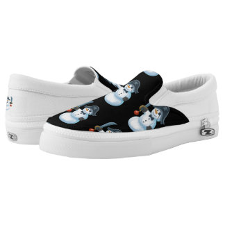 Pirate Zipz Slip On Shoes, US Men 10 / US Women 12 Printed Shoes