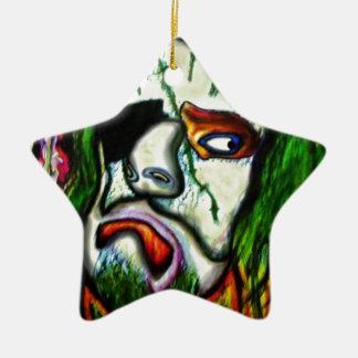 Pirate Zombie Clown Ornaments