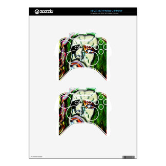 Pirate Zombie Clown Xbox 360 Controller Decal