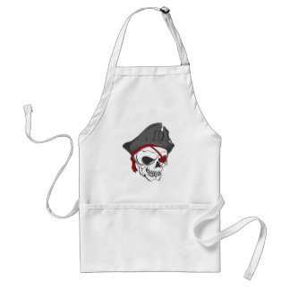 Pirate Zombie Skull Aprons