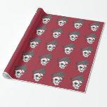 Pirate Zombie Skull Gift Wrap