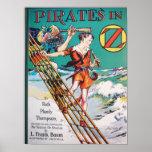 Piratea el inOz Posters