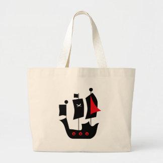 PirateAd14 Large Tote Bag