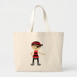 PirateAd2 Large Tote Bag