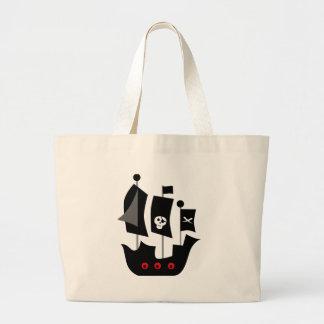PirateAd4 Large Tote Bag