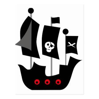 PirateAd4 Tarjeta Postal
