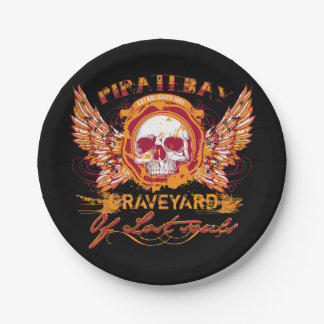 PirateBay Graveyard Of Lost Souls Backpack Paper Plate
