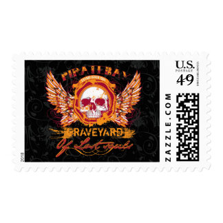 PirateBay Graveyard Of Lost Souls Backpack Postage