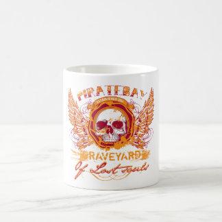 PirateBay Graveyard Of Lost Souls Classic White Coffee Mug