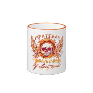 PirateBay Graveyard Of Lost Souls Ringer Coffee Mug