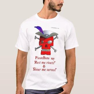PirateBots - 3D Robot Pirate T-Shirt