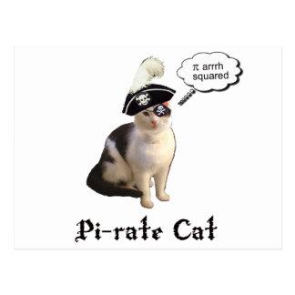 PiRateCat Postcard