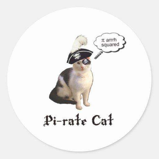 PiRateCat Stickers