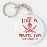 PirateDayKeyring4 Key Chains