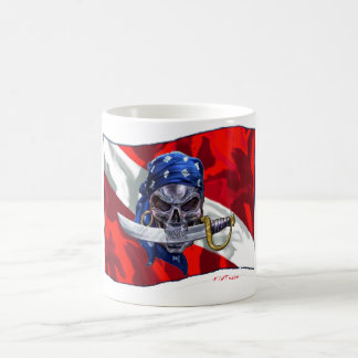 piratediveflag copy coffee mug