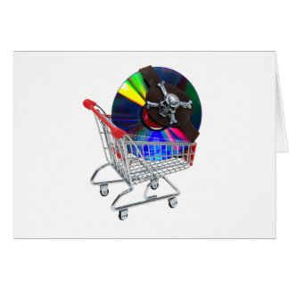 PiratedSoftware070709 Greeting Card