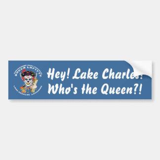 Piratee a la reina 1 opinión de 35 colores sobre pegatina para auto