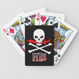 Piratee el suyo baraja cartas de poker