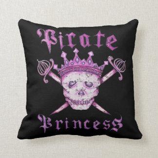 Piratee la almohada de tiro de princesa american cojín decorativo