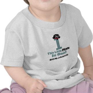 Piratee la camiseta personalizada 1r primer cumple
