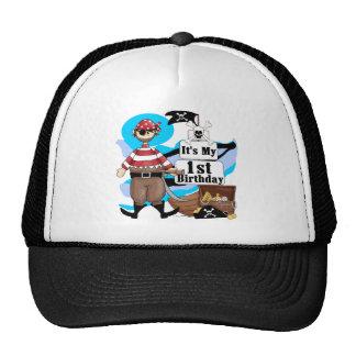 Piratee las 1ras camisetas y regalos del cumpleaño gorras de camionero