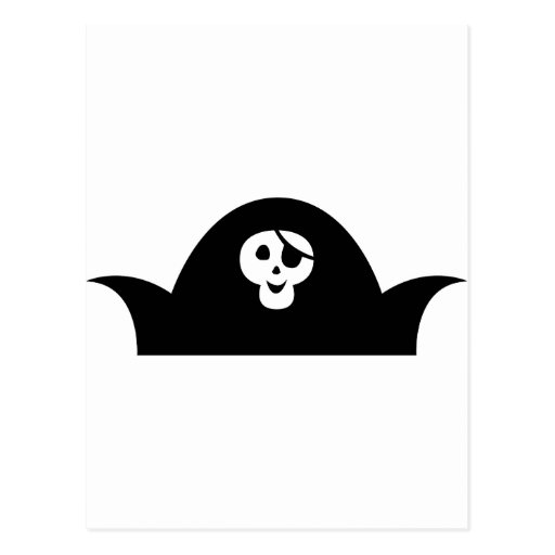 PirateKidSilA_P12 Tarjeta Postal