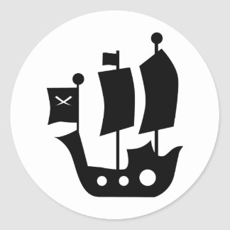 PirateKidSilA_P9 Stickers