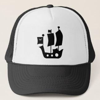 PirateKidSilA_P9 Trucker Hat