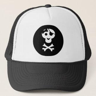 PirateKidSilB_P1 Trucker Hat