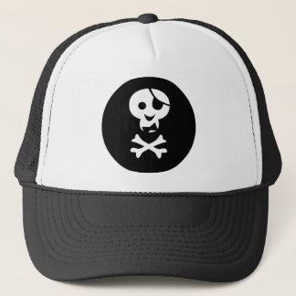 PirateKidSilB_P2 Trucker Hat