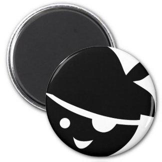 PirateKidSilB_P6 Magnet