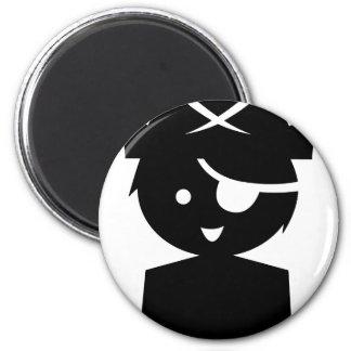 PirateKidSilC_P10 Magnet