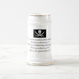PirateLife,Stein 18 Oz Beer Stein