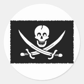 PirateLife,Sticker Classic Round Sticker