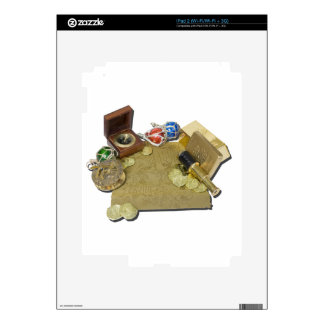 PirateMapGoldCoinsBarTelescopeCompass101115.png Decals For The iPad 2