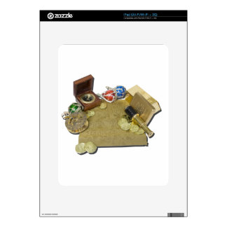 PirateMapGoldCoinsBarTelescopeCompass101115.png Skins For The iPad