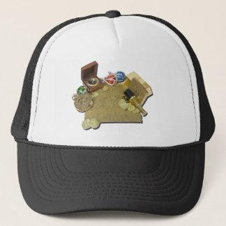 PirateMapGoldCoinsBarTelescopeCompass101115.png Trucker Hat