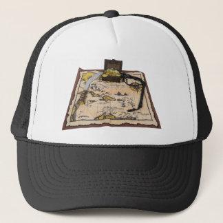 PirateMapTreasure050110 Trucker Hat